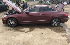 2010 E350 mercedes benz red for sale