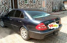 Mercedes-Benz E320 2008 Blue for sale