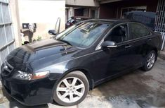 Acura TSX 2004 model, American spec and use