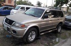 Mitsubishi Montero 2002 Brown for sale