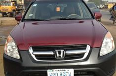 Honda CR-V 2004 Red for sale