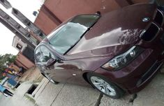BMW 2008 red for sale