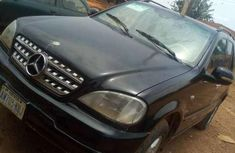 Mercedes-Benz ML320 2004 Black for sale