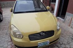 Hyundai Accent 2005 Yellow for sale