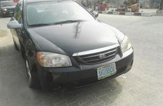Kia Spectra 2006 EX Black for sale