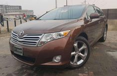 2011 Toyota Venza brown for sale
