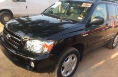 Toyota Highlander ltd 2006 for sale