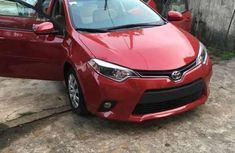 Toyota Corolla 2016 Red for sale