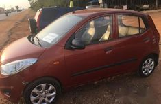 Hyundai i10 2012 Red for sale