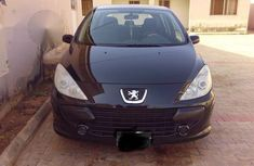 Peugeot 307 2002 1.4 D Black for sale