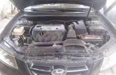 Clean 2007 Hyundai Sonata Black for sale