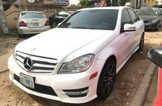 Mercedes-Benz C300 2012 White for sale at giveaway price