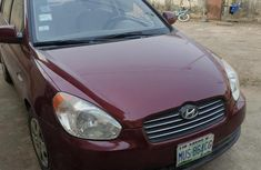 Hyundai Accent 1.6 2007 Red for sale