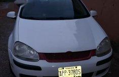Volkswagen Golf 2005 White for sale