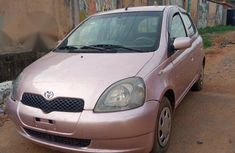 Toyota Yaris 2003 Pink for sale