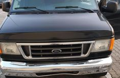 Ford E-350 2008 Super Duty Extended Black for sale