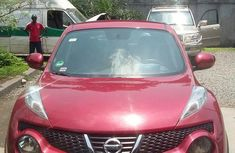 Nissan Juke 2013 Red for sale