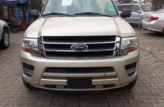 Ford Expedition 2017 Gold for sale