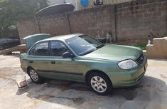 Hyundai Accent 2004 Green for sale