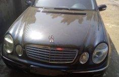 Mercedes-Benz 200E 2003 Black for sale