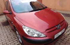 Peugeot 307 2003 Red for sale