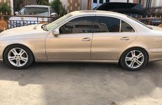 Mercedes-Benz E500 2006 Gold for sale