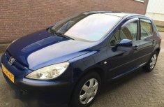 Peugeot 307 2001 Blue for sale
