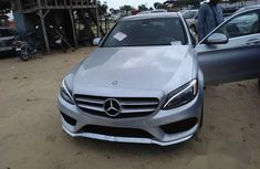 Mercedes-Benz C400 2013 Gray for sale