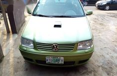 Volkswagen Polo 2001 Green for sale