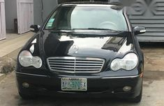 Mercedes-Benz C320 2004 Black for sale
