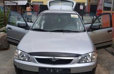 Mazda 323 2004 Gray for sale
