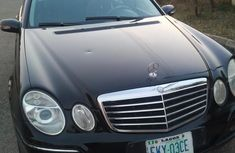 Mercedes-Benz E500 2006 Black for sale