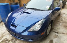 Toyota Celica 2003 Blue for sale