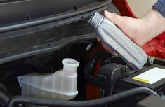 This is how to add transmission fluid in a car