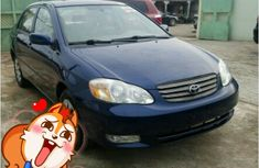 Foreign Used Toyota Corolla 2004 Blue for Sale