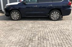 Lexus LX 2017 Blue for sale