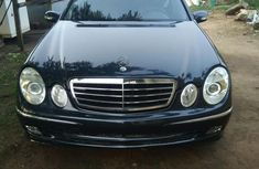 Mercedes-Benz E500 2004 Black for sale