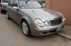 Mercedes-Benz E500 2003 Gray for sale
