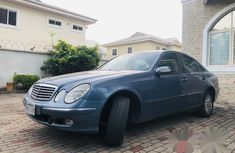 Mercedes-Benz E240 2004 Blue for sale