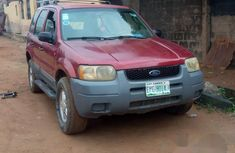Ford Escape 2001 Red for sale