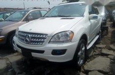 Toks Mercedes Benz ML 350 2007 White for sale