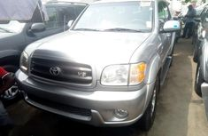 Toks Toyota Sequoia 2004 Gray for sale