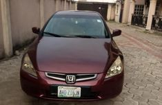 Honda Accord 2003 Automatic Red for sale