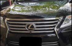 Lexus LX 570 2012 Black for sale