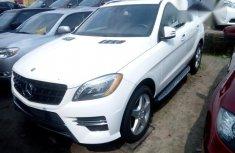 Mercedes Benz ML 350 2015 White for sale