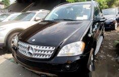 Toks Mercedes Benz ML 350 2007 Black for sale