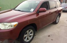 Toyota Highlander 2008 Pink For sales