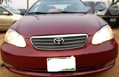 Toyota Corolla 2005 LE Red for sale