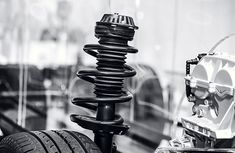 How does a car suspension system work?