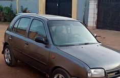 Nissan Micra 2002 Gray for sale